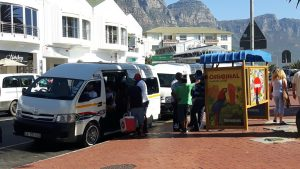 Mini Bus Taxis Kapstadt