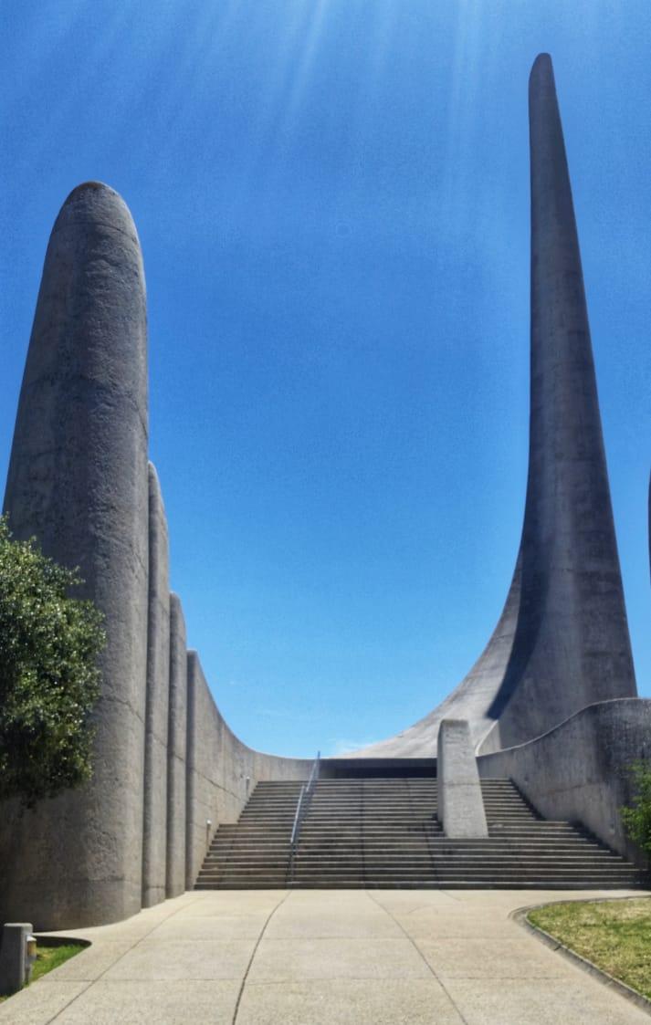 Taal Sprachen Monument in Paarl